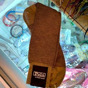 NWT POLO RALPH LAUREN DRESS SOCKS SIZE 10-13